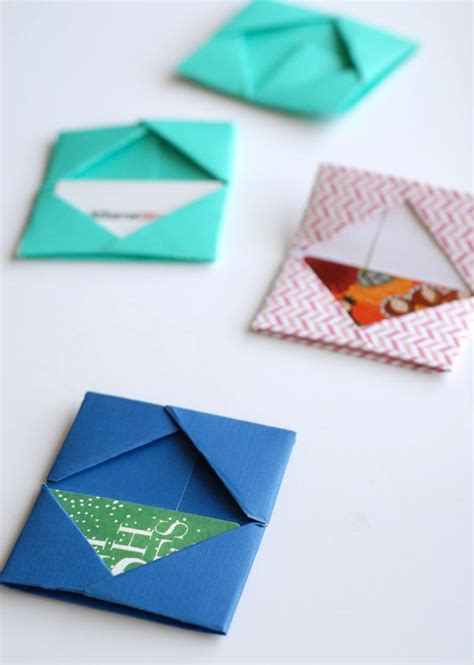 Homemade Gift Card Holder - best 25 diy origami cards ideas on pinterest paper oragami diy kirigami cards and