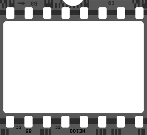 filmstrip powerpoint template free vector graphic negative cinema free
