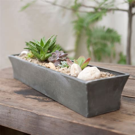 Window Sill Planter Indoor Zinc Windowsill Trough Terrain
