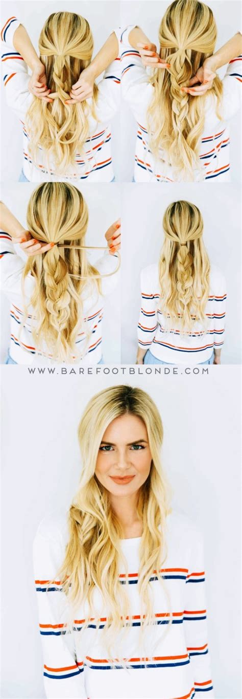 25 Absolutely New And Easy Hairstyles To Try In 2018 | 25 absolutely new and easy hairstyles to try in 2018