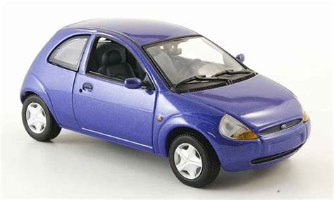 ka model ford ka blue minichs diecast model car 1 43 buy sell