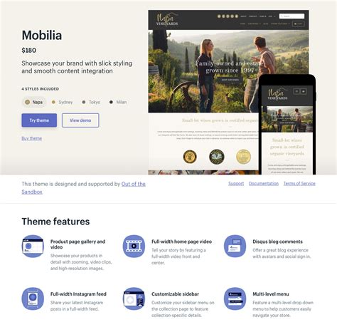 shopify themes mobilia the best shopify themes how to pick the perfect shopify theme