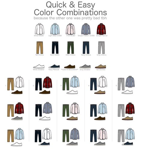 color combination for clothes 45 infographics that will make a fashion expert