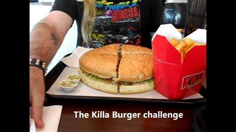 the adventures of jet frichot killa burger challenge
