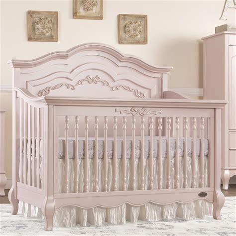 Evolur Aurora 5 In 1 Convertible Crib In Blush Pink Pearl On Me 5 In 1 Convertible Crib
