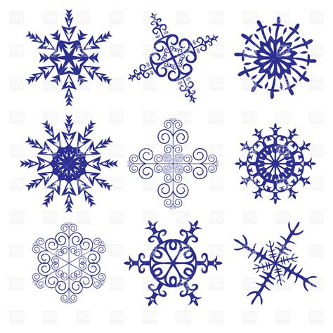 snowflake pattern clipart snowflakes clipart new calendar template site