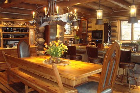 log cabin home interiors beautiful log cabin homes interior inspiration house