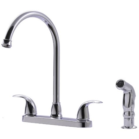 ultra faucets two handle centerset kitchen faucet with