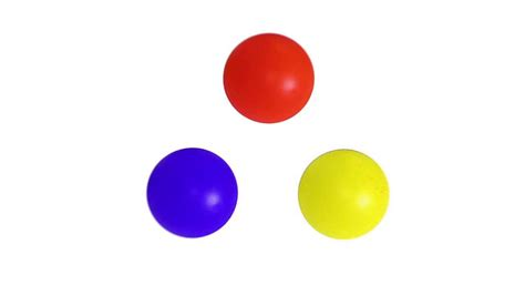 color balls learning colors song for children