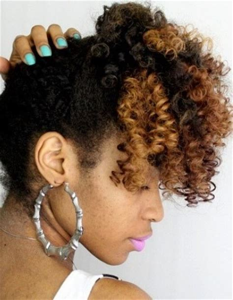 curly hairstyles for long hair tied up 20 classy updos for natural hair