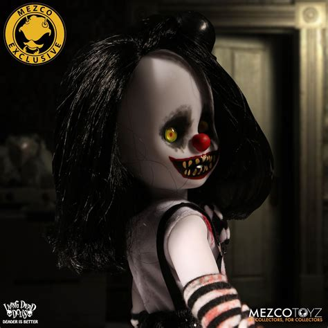 Mezco Living Dead Doll Resurrection Ii Lillith 1 mezco unveils variant of living dead dolls resurrection cuddles figures