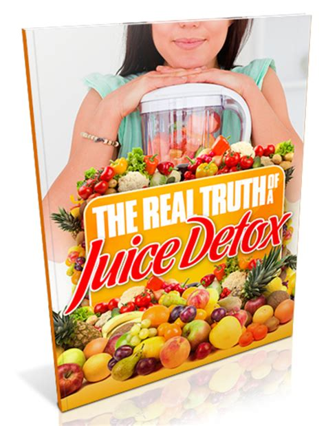 Detox Study by The Real About A Juice Detox Study