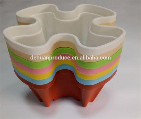 vertical garden materials stackable plastic garden pots