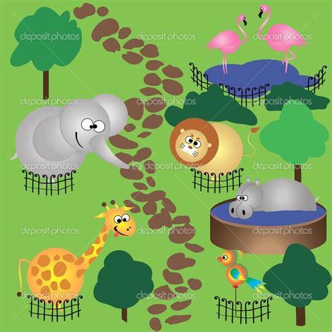 dnde estn los animalitos lugares donde estan los animales en el zoologico cartoon buscar con google ideas