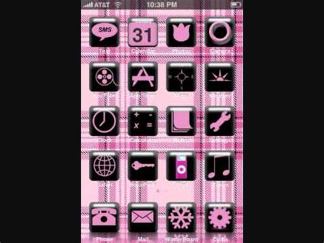 girl themes jailbreak 25 awesome iphone themes for the girls youtube