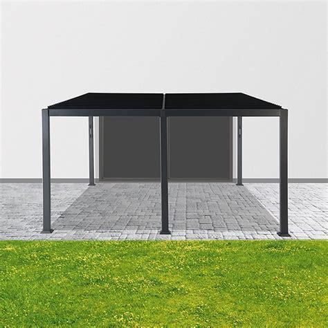 pavillon bauhaus sunfun pavillon palma 3 x 4 x 1 4 m anthrazit bauhaus