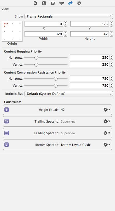 top layout guide uitableview ios arranging bottom toolbar issues ios7 stack overflow