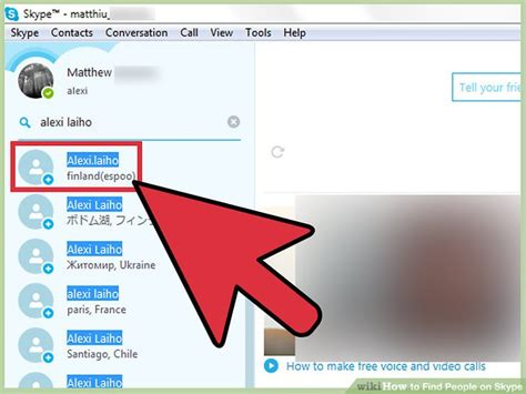 How To Find Peoples Skype Names How To Find On Skype 11 Steps With Pictures Wikihow