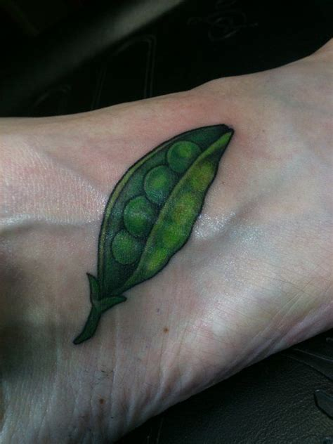 peas in a pod tattoo pin pea on