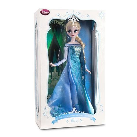 disney store frozen limited edition princess elsa doll 17 le 2500 fuhzee