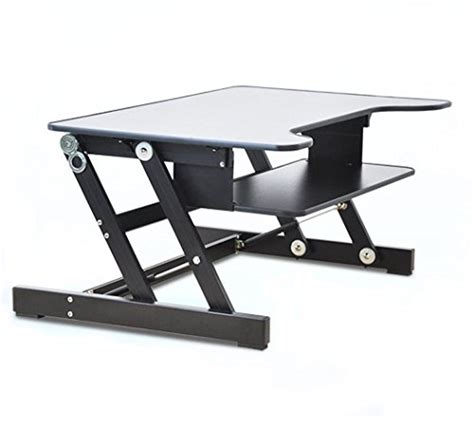 Sit And Stand Computer Desk by Er Healthy Sit Stand Desktop Computer Workstation Height