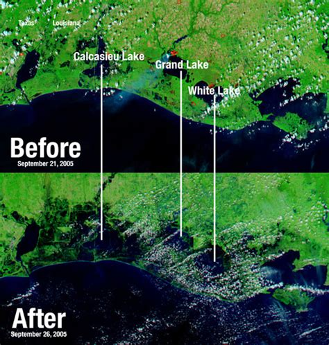 louisiana map before and after corps takes blame for new orleans flooding