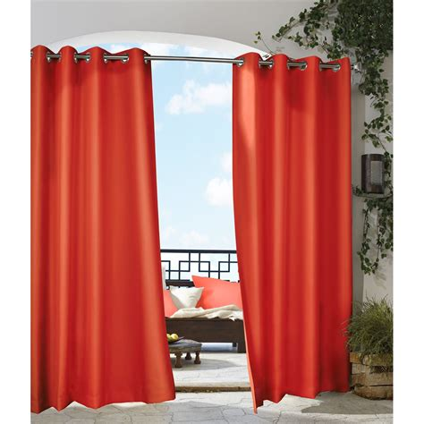 gazebo drapes commonwealth home fashions 70315 50 gazebo curtain atg