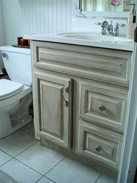 distressed bathroom vanity idea for the home