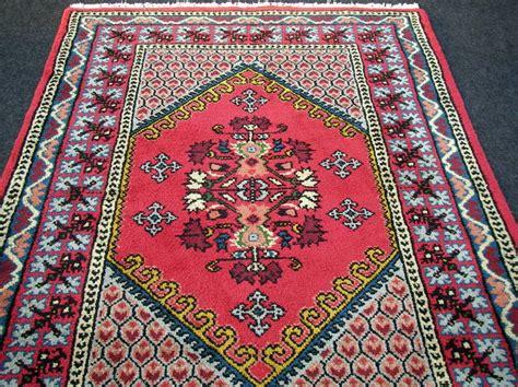 marokko teppiche orient teppich berber 182 x 123 cm marokko rot