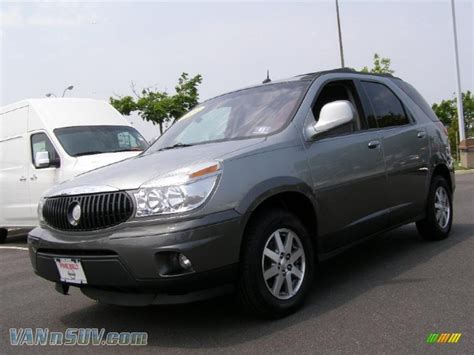 buick rendezvous 2004 2004 buick rendezvous cxl awd in light spiral gray