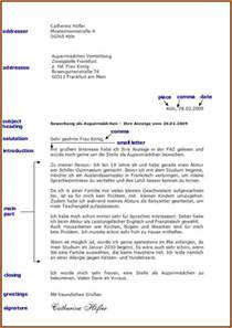 Business Letter Aufbau Formeller Brief Vorlage Reimbursement Format