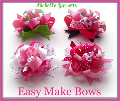 how to make hair bows written instructions written instructions for hairbows making hair bows on