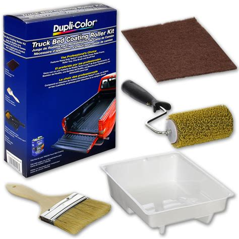 duplicolor truck bed coating dupli color trg103 truck bed coating roller kit