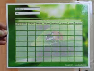How to make your own chore charts mybinding blog