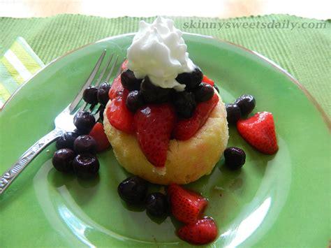 light and refreshing dessert cake with fresh fruit