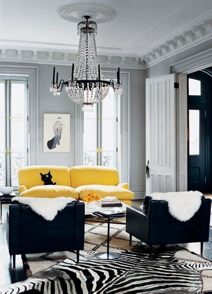 black grey and yellow living room living room grey black white with pops of bright yellow chandelier rooms purple