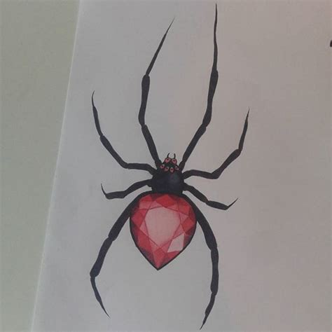 black widow spider tattoo 25 best ideas on