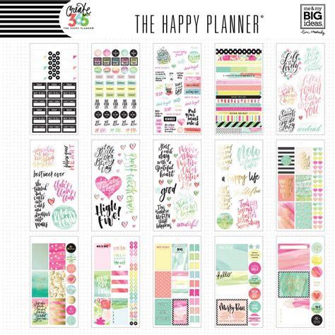 the happy planner happy planner stickers happy planner create 365 the happy planner sticker value pack