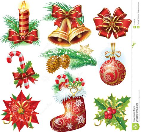images of christmas objects christmas objects royalty free stock image image 27312106