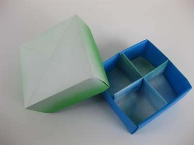 Origami Box With Divider - 740 best images about origami on how to make
