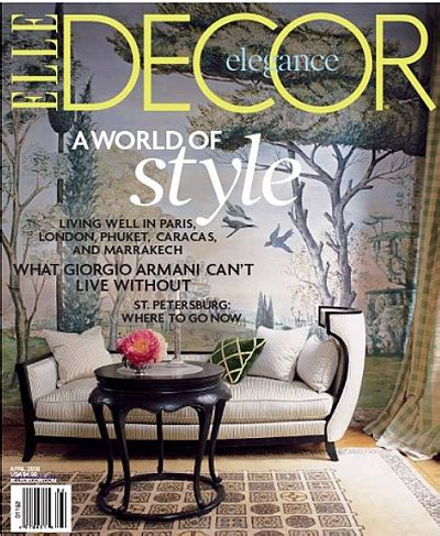 elle decor magazine elle decor magazine april 2008 usa 187 pdf magazines archive