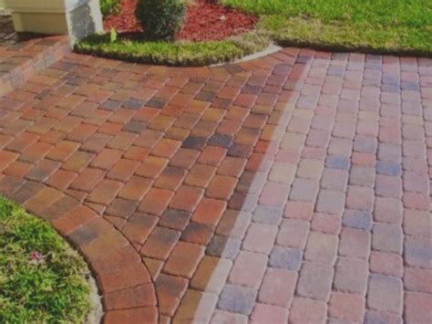 Patio Paver Sealing Brick Paver Cleaning And Sealing Ta