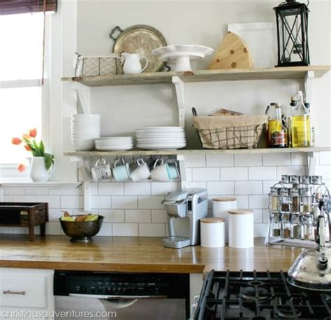 bloombety unique open shelving in kitchen open shelving 92 best images about dream kitchen ideas on pinterest