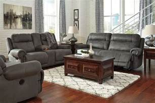 Oxford And Reclining Living Room Collection Austere Gray Reclining Living Room Set From
