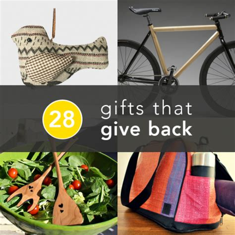 giving gifts for charity 28 awesome charity gifts greatist