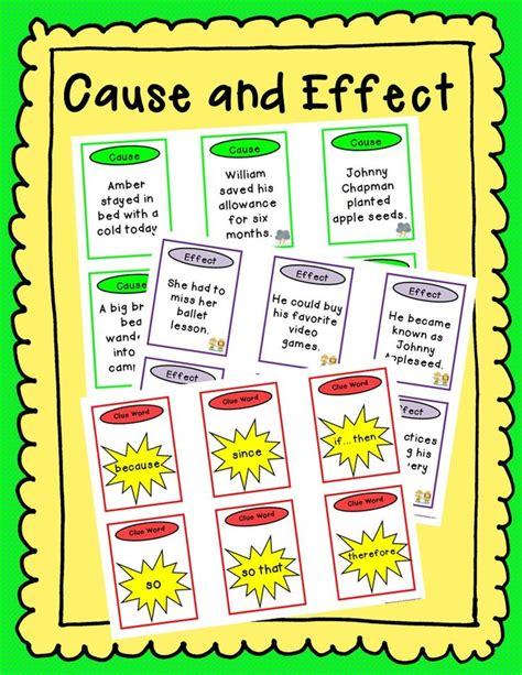 picture books for cause and effect 29 best images about cause and effect on cause