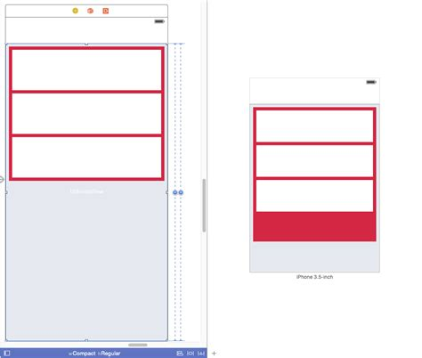 qt5 layout size constraint ios how to set layout constraints for variable hight