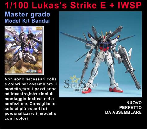 Gundam Strike E Iwsp Lukas Custom 1 100 Master Grade Mg Hongli gundam 1 100 strike e iwsp lukas use master grade model kit mg