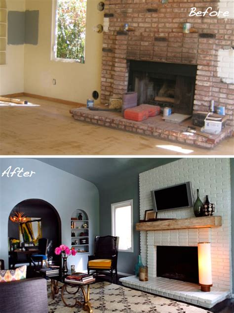 before after 15 fireplace surrounds made