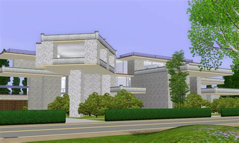 sims 3 luxury mansion by ramborocky on deviantart sims 3 modern luxury mansion by ramborocky on deviantart